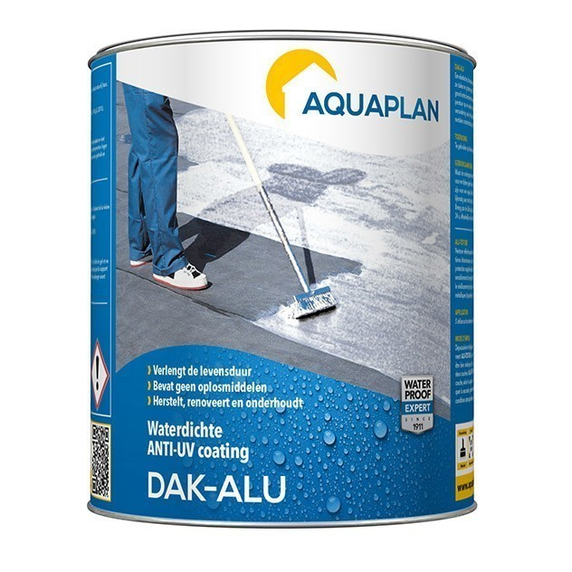 Bekend Dak-Alu: waterdichte anti-UV dakcoating | Aquaplan JE63