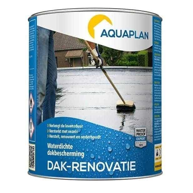 Dak renovatie aquaplan for Vijverfolie gamma