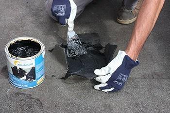 Blazen en scheuren herstellen met Dak-Reparatie